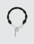 MM6 Maison Margiela Brass And Plastic Choker Picture