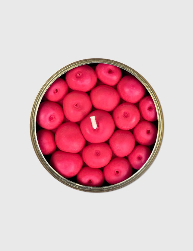 Candle Hand Fruity Cherry Candle Can Red Unisex