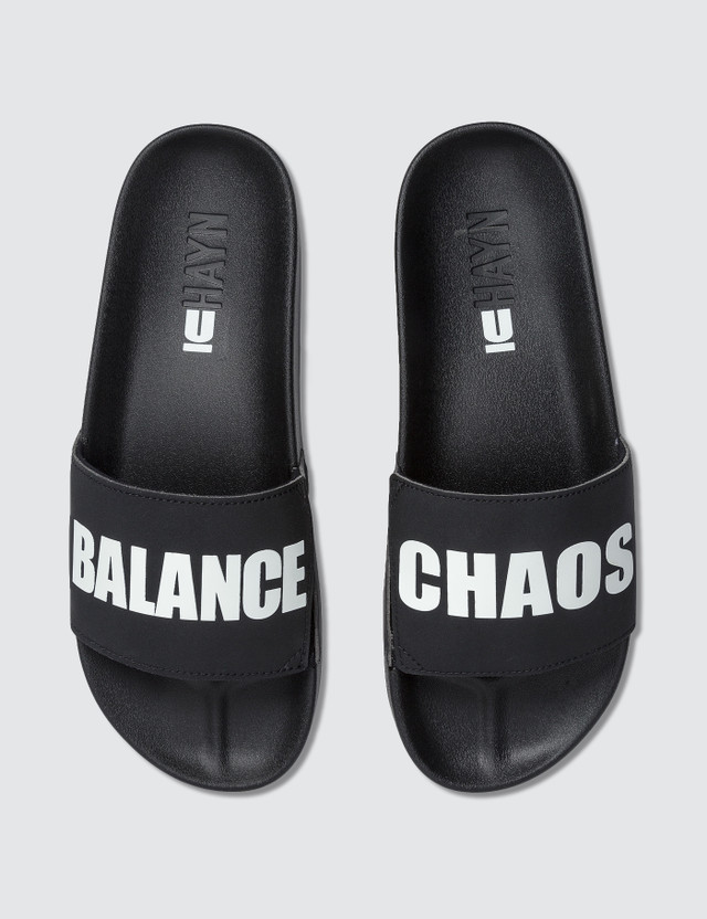 "Undercover ""Chaos"" Slippers"