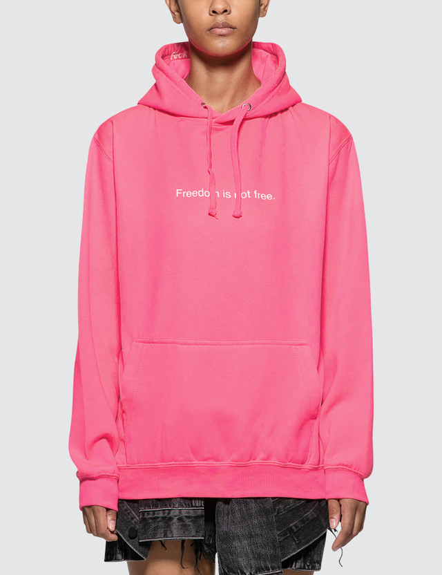 Fuck Art, Make Tees Freedom Is Not Free. Neon Hoodie