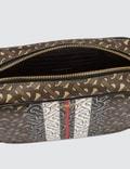 Burberry Monogram Stripe E-canvas Crossbody Bag