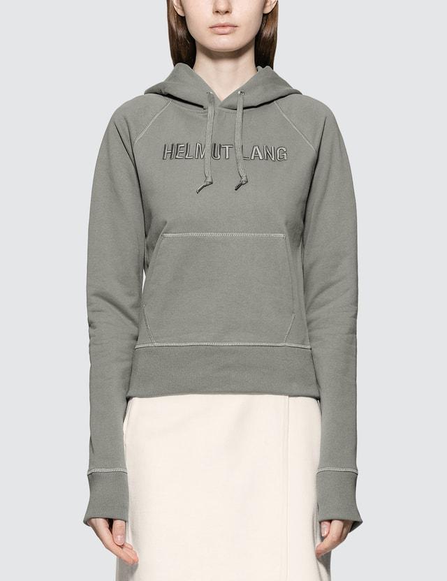 Helmut Lang Monogram Slim Hoodie