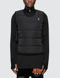 11 By Boris Bidjan Saberi Logo & Type Insulated Vest Picture