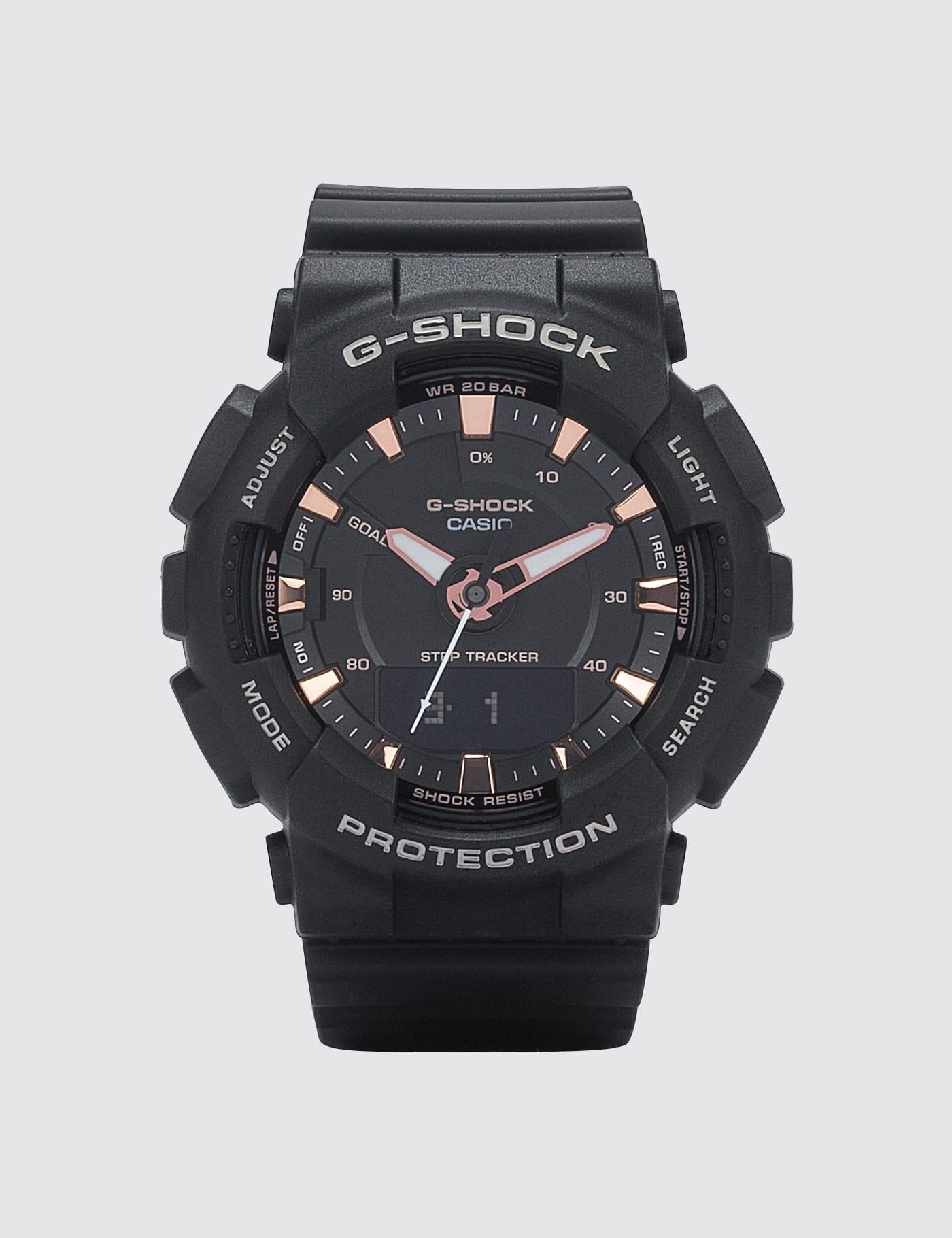 CASIO   G-Shock GMAS130PA-1A   Goxip