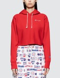 Champion Reverse Weave Cropped Hooded Sweatshirt Picture