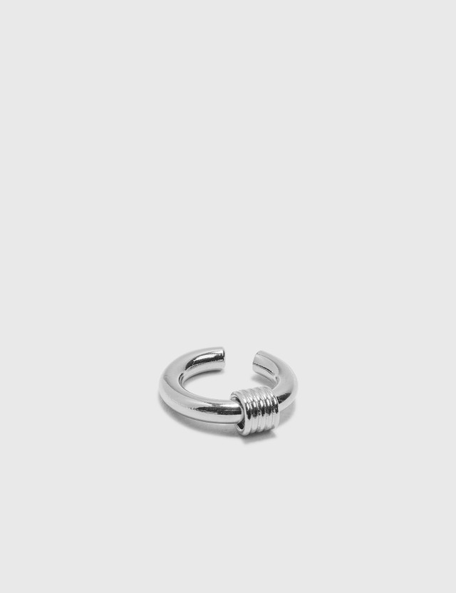 Justine Clenquet Carrie Earcuff Silver Women