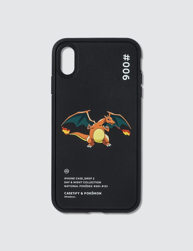 Casetify Charizard 006 Pokédex Night Iphone XS Max Case Black Men