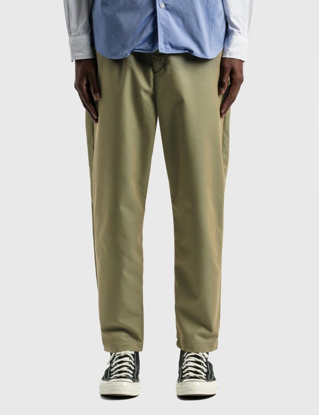 SOPHNET. Baggy Wide Tapered Easy Pants Khaki Men