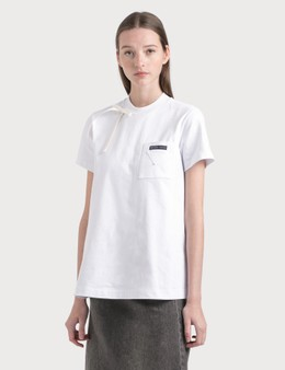Prada Pocket T-shirt With Bow