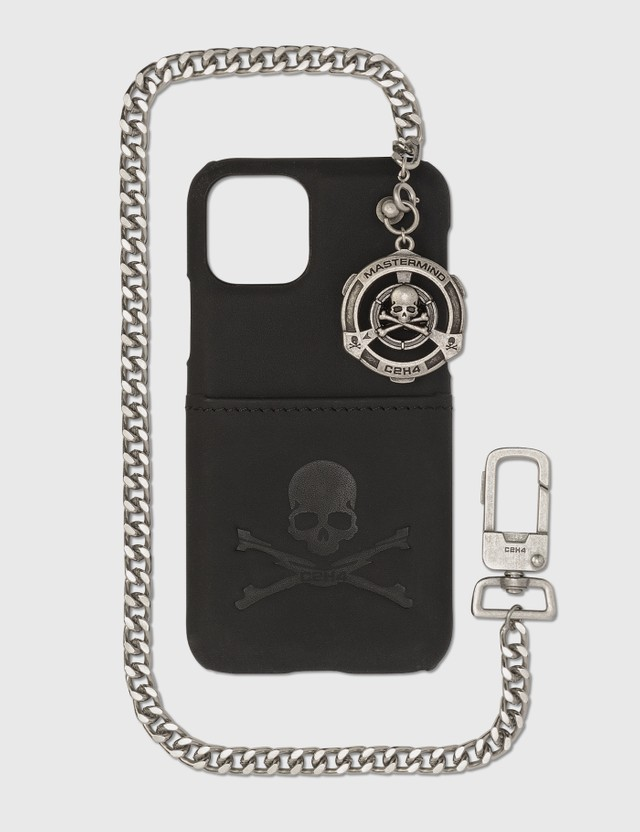 C2H4 Los Angeles C2H4® x Mastermind Japan iPhone 11 Pro Chain Case Black Unisex