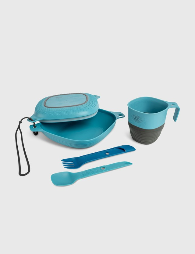 UCO 6 Pieces Mess Kit Blue Life