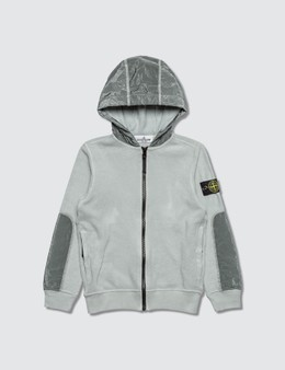 Stone Island Polar Fleece Zip Kids Hoodie Kids