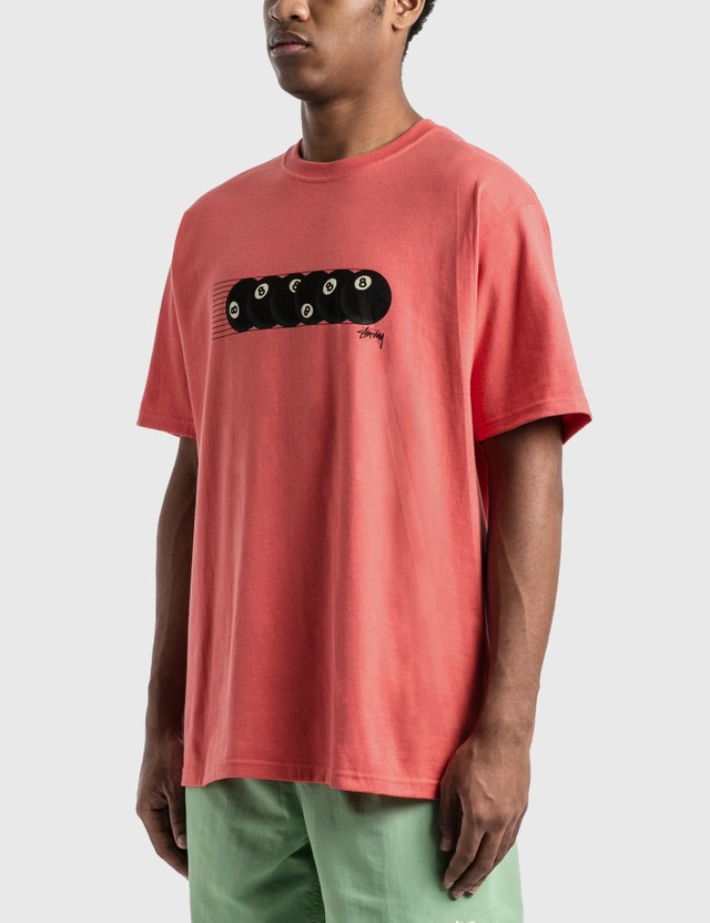 Stussy Rollin' T-Shirt Pale Red Men