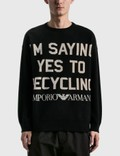 Emporio Armani R-EA Show Knitted Sweater 사진