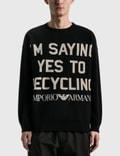 Emporio Armani R-EA Show Knitted Sweater Picutre