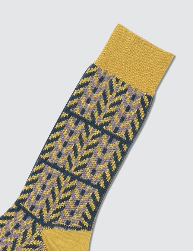 Tabio Herringbone Check Socks