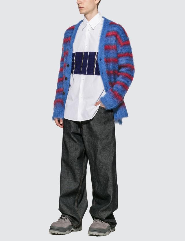 Marni Mohair Oversized Cardigan