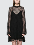 McQ Alexander McQueen Pointelle Checkdress Picutre
