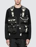 White Mountaineering White Mountaineering x Eastpak Multi Pocket Vest Bag