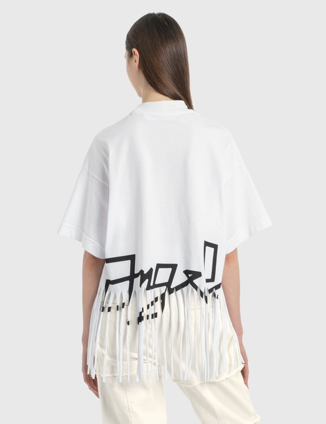 Palm Angels Fringed Desert Logo T-Shirt