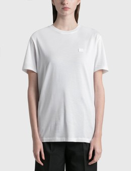 Acne Studios Face Patch T-shirt