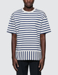 Public School Daryl Striped S/S T-Shirt Picture