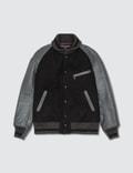 Comme des Garçons HOMME Comme Des Garcons Homme X Johnson Leathers Varsity Jacket Picture