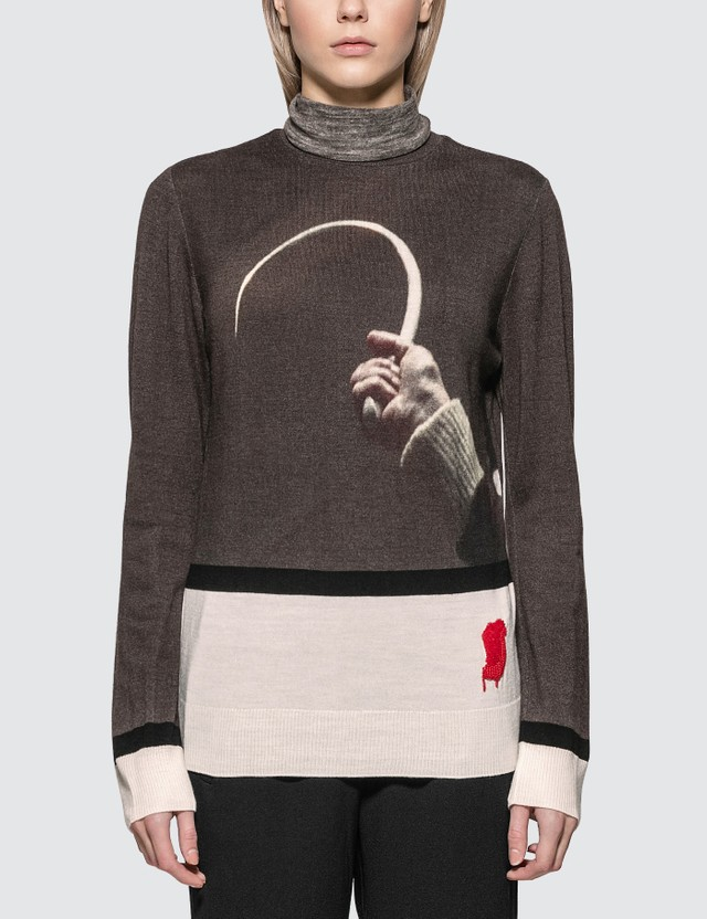 Undercover Suspiria Hook Knitted Pullover