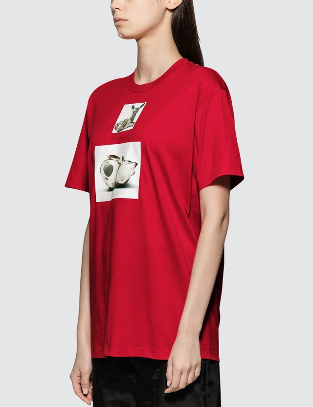 Burberry Deer Print Short Sleeve T-shirt
