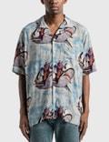 Rhude Hawaiian Shirt Picutre