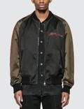 Alexander McQueen Dragon Embroidery Bomber Jacket 사진