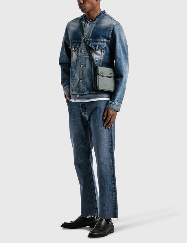 Maison Margiela Grain Leather Crossbody K Men