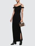 Loewe Strappy Leather Strap Dress
