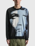 DEVÁ STATES Shatters Knitted Sweatshirt Black Men