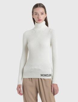 Moncler Jacquard Logo Knit Sweater