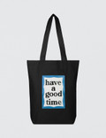 Have A Good Time Blue Frame Tote Picture