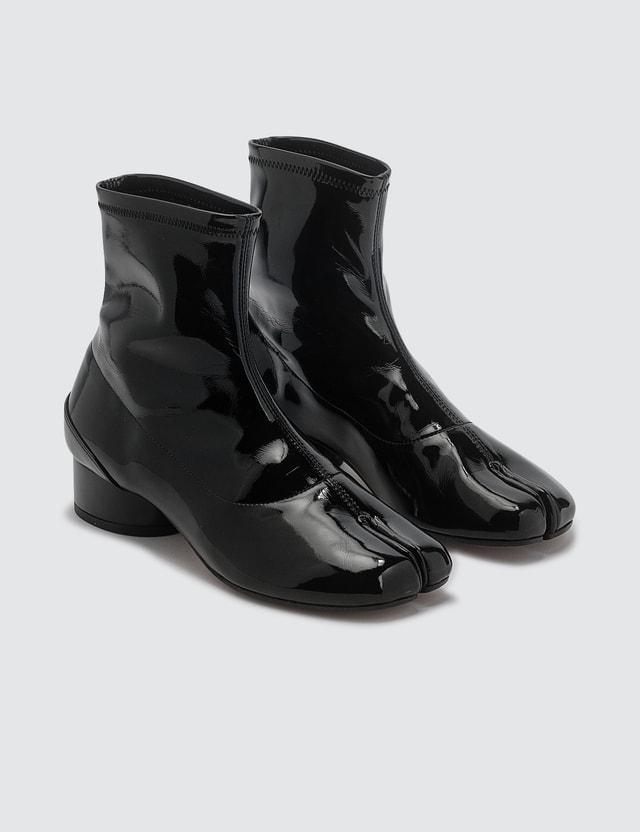 Maison Margiela Tabi Patent Leather Sock Boots