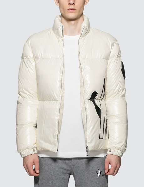 몽클레어 Moncler Nylon Down Jacket with Front Logo