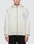 Alexander Wang Zip Up Hoodie with Platinum Trophy Patch Picture