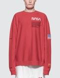 Heron Preston Nasa Crewneck Sweatshirt Picture