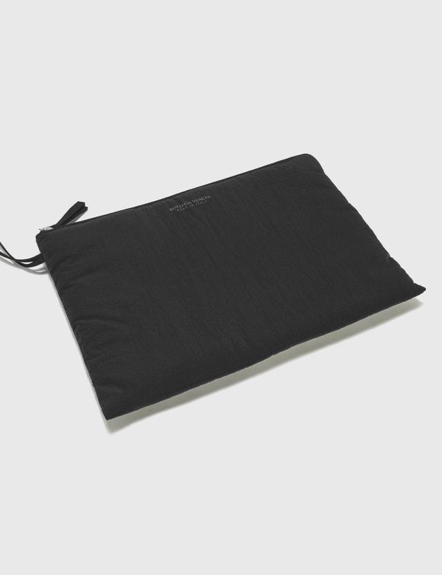 Bottega Veneta Padded Light Paper Nylon Messenger