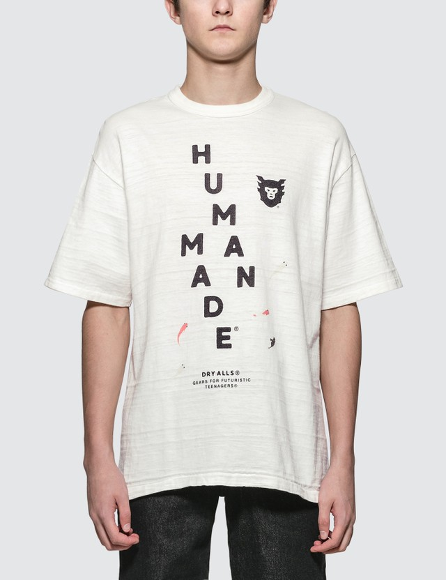 Human Made Brand Logo with Goldfish Print S/S T-Shirt