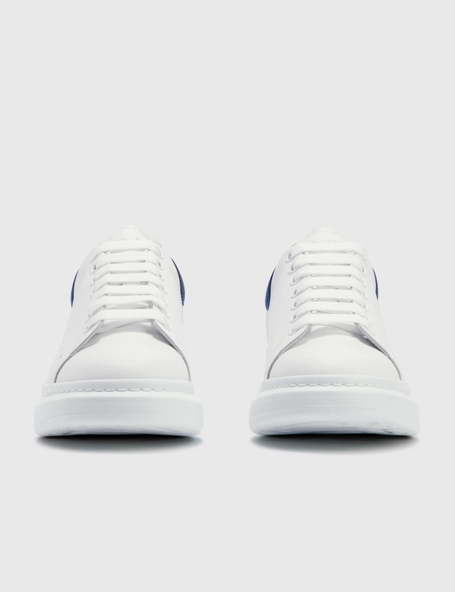 Alexander McQueen Oversized Sneaker White/paris Blue Men