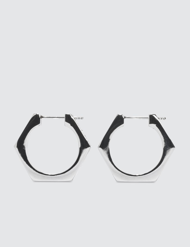 Off-White Hexnut Earrings