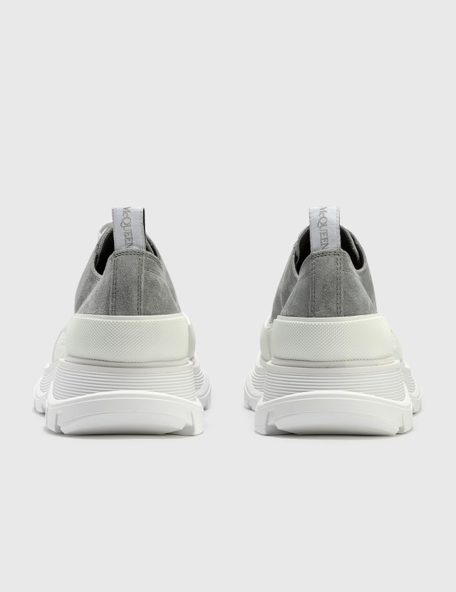 Alexander McQueen Tread Slick Lace Up Sneaker Snowcl./wh/wh/wh/sil Men