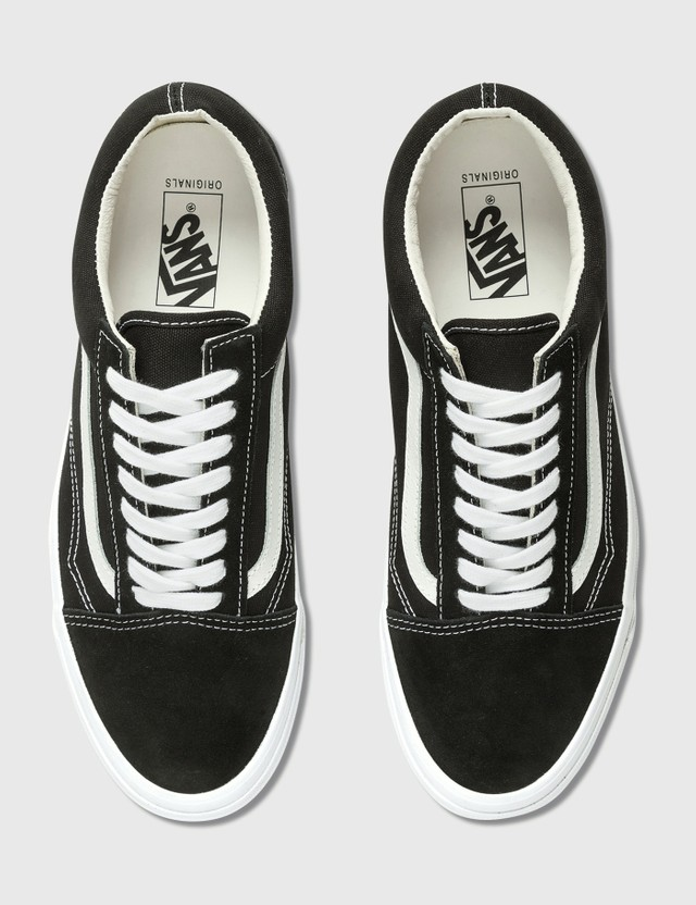 Vans OG Old Skool LX (suede/canvas) Black/true White Men