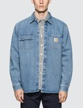 Carhartt Work In Progress Salinac Denim Shirt Picture
