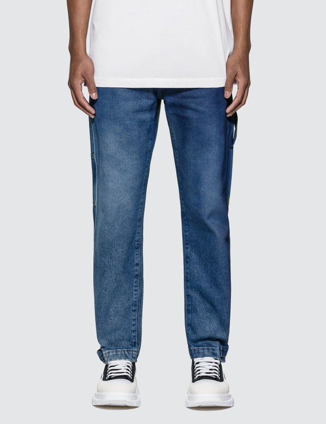 Marcelo Burlon COUNTY 3000 Spray Jeans