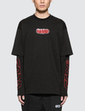 GCDS Double Sleeves L/S T-Shirt Picutre