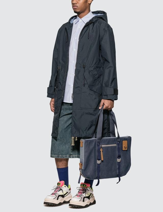 Loewe Drawstring Denim Shorts